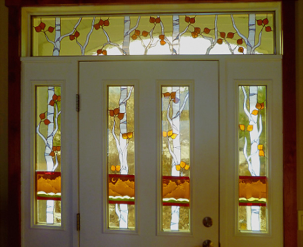 Windows And Doors Custom Stained Glass Design And Fabrication